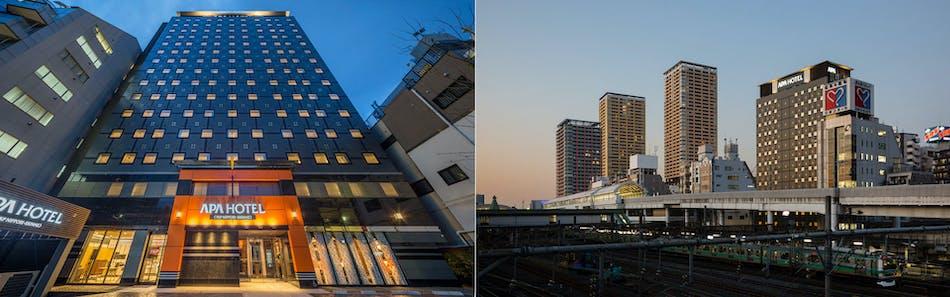アパホテル〈TKP日暮里駅前〉