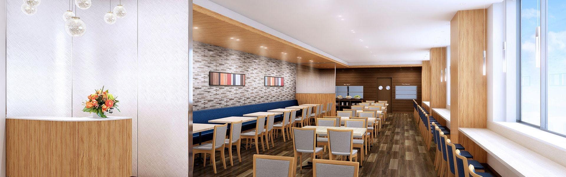 3階レストラン