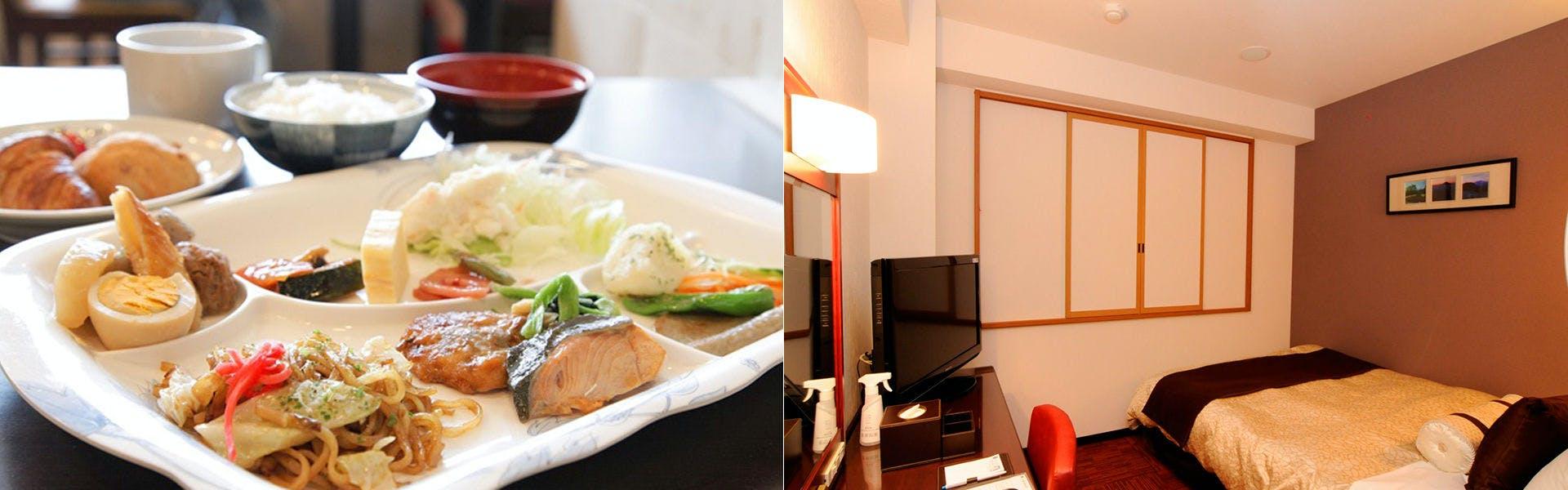 朝食・客室