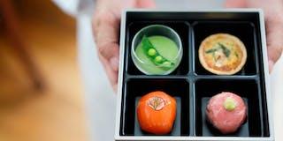 朝食 京の四季彩箱・イメージ