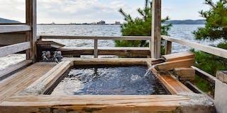 貸切露天風呂(風樹の湯)