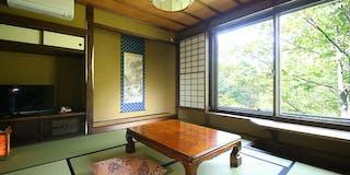離れ 展望露天風呂付新客室 山桜の間