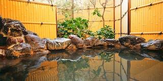 温泉貸切露天風呂「天の光湯」