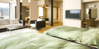特別室 801号室 展望風呂付 シモンズベッド使用