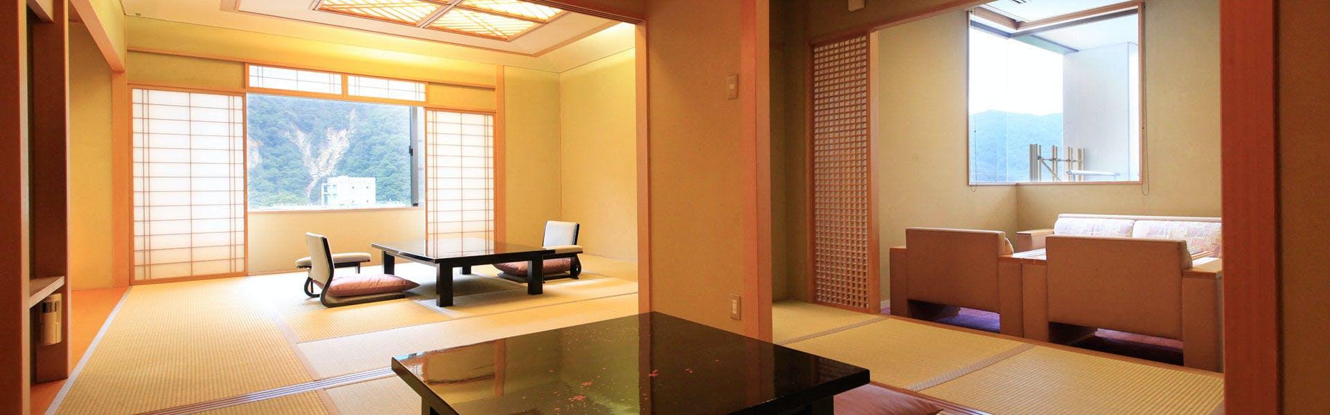 記念日におすすめのホテル・【源泉湯の宿 紫翠亭】の写真3