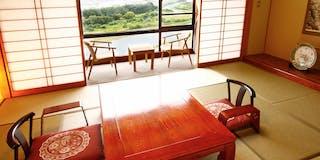 天竜川眺望指定の和室【10-12畳】バス・トイレ付