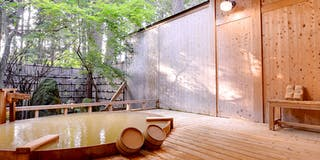 露天風呂「大樹の湯」