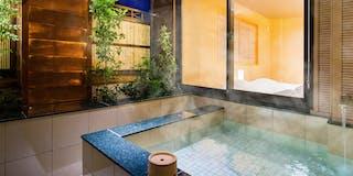 客室温泉露天風呂