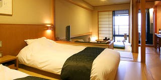 【新館 水花の庄】露天風呂付和洋室