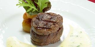 牛肉のトゥルヌドアンリ四世風ペアルネーズソース