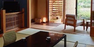 露天風呂付き客室「華-HANA-」スイート