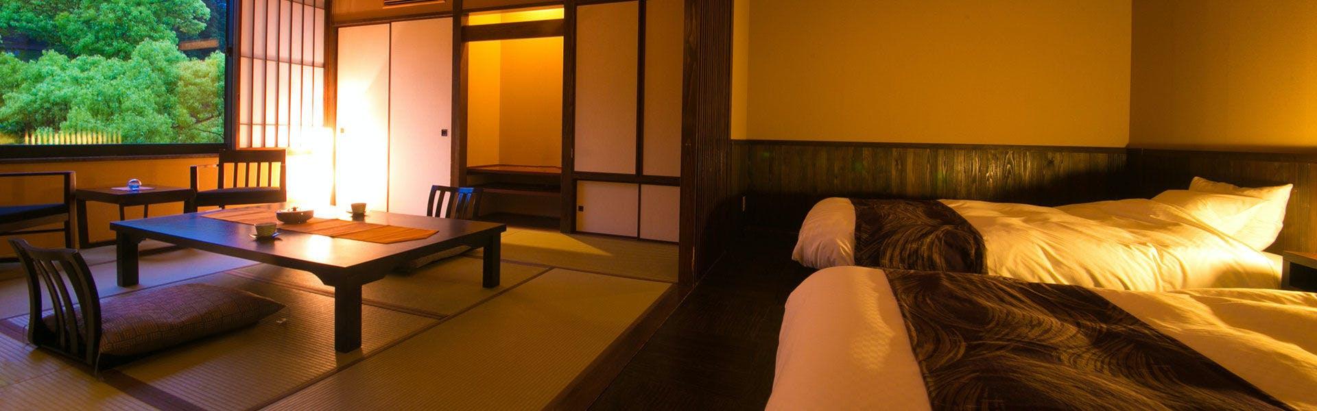 記念日におすすめのホテル・【湯めぐりの宿 楠水閣】の写真2