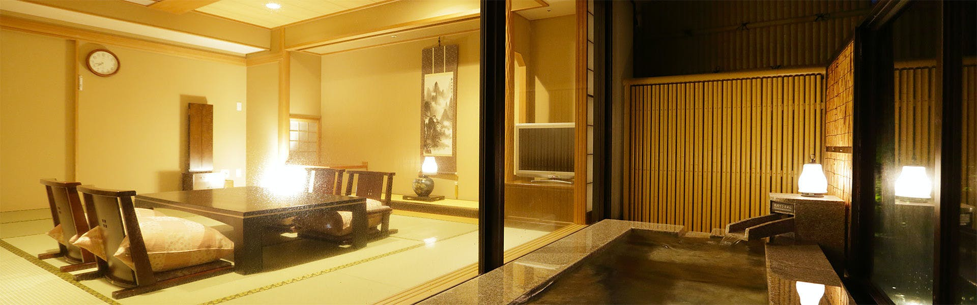 露天風呂付客室