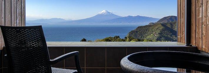 全客に富士山を一望できる露天風呂付のリゾート 西伊豆リゾート 雲と風と(静岡県/沼津市)