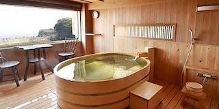展望貸切檜風呂