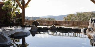 石の湯殿「山河の湯」