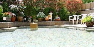 庭苑野天風呂「明鏡」