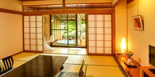 庭園露天風呂付客室