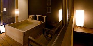 温泉檜風呂付客室