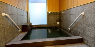 湯畑源泉の内湯