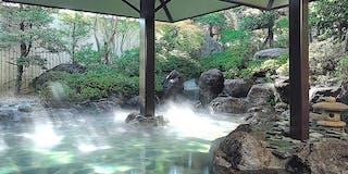 庭園風露天風呂 「寿寿」