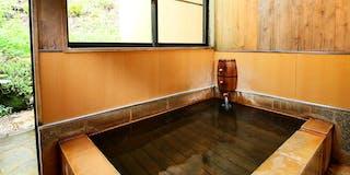 ログコテージの内湯