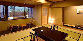 露天風呂付和室客室一例