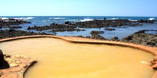 海辺の露天風呂