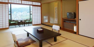 南館4階 和室 2つの和室で広々客室