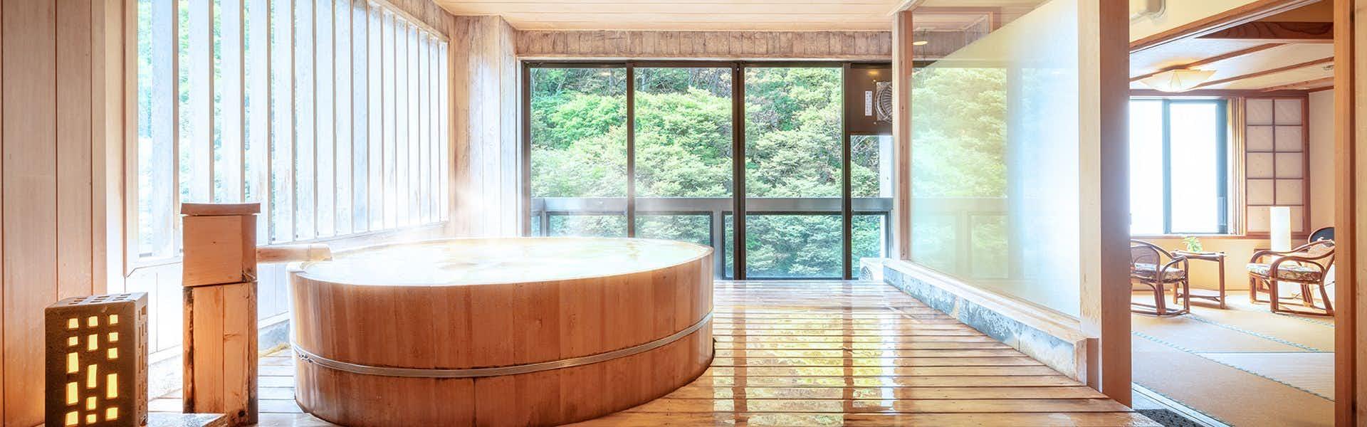 客室の温泉