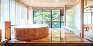 展望風呂つき客室一例