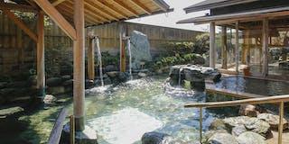 庭園露天風呂 風待ちの湯