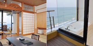 展望風呂付 海側10帖和室