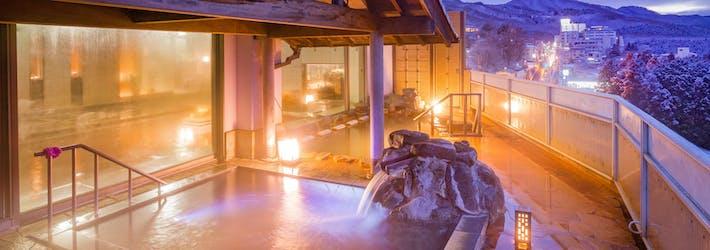 伊香保の2種類の温泉を楽しめる ホテル松本楼(群馬県/渋川伊香保ICから車で約20分)