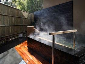熱海温泉で客室露天風呂がある宿