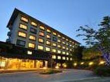 ホテル全景夜撮影