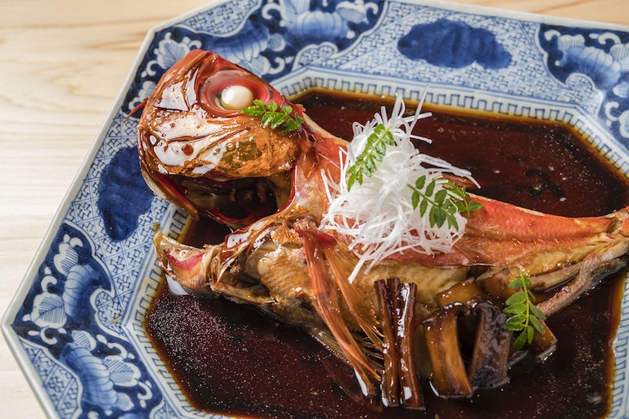 伊豆近海産「金目鯛の煮つけ」