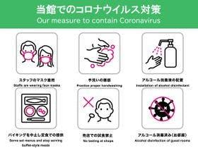新型コロナウイルス対策:当館での衛生管理