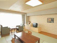 知床第一ホテル西館の10帖和室です。