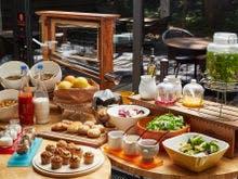 サロン朝食