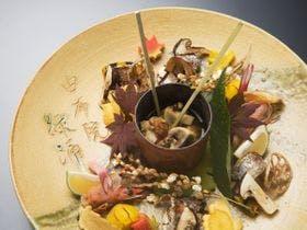 太刀魚と松茸の吹き寄せ