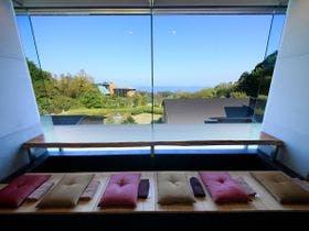 足湯カフェからの眺め ※イメージ