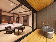 最上階の露天風呂付客室
