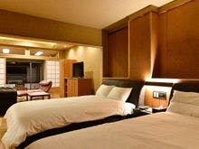【本館】客室 寝室
