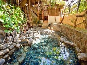 彼と熱川温泉へ!部屋食を希望。おすすめの温泉宿を教えて下さい。