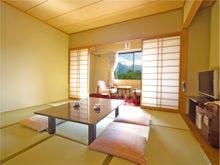 磐梯山眺望和室イメージ