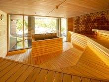 【月の湯】国産檜で造られたロウリュサウナ