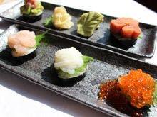 【朝食】手巻き寿司