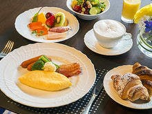 クラブフロア専用ラウンジ朝食