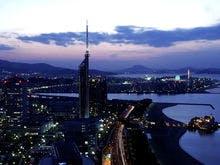 【福岡タワー側の夜景】※イメージ